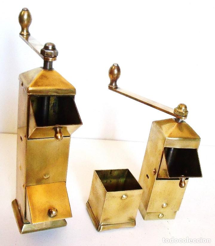 Antigüedades: ¡¡¡EXCELENTE LOTE!!! LOS DOS MODELOS DE MOLINILLOS DE CAFÉ QUE DISEÑÓ JAN EISENLÖFFEL EN 1902. - Foto 13 - 97728051