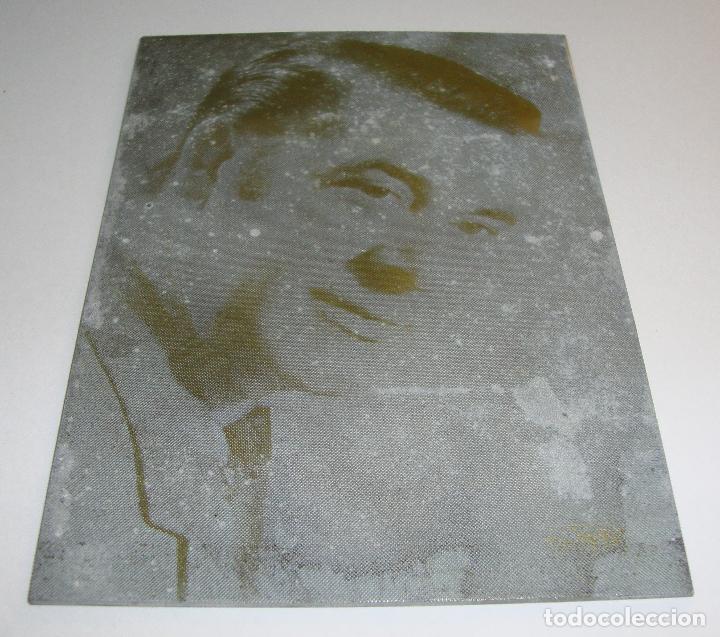 (TC-107) MUY DIFICIL PLANCHA CLICHE IMPRENTA DE MARAVILLAS JUAN (Antigüedades - Técnicas - Herramientas Profesionales - Imprenta)