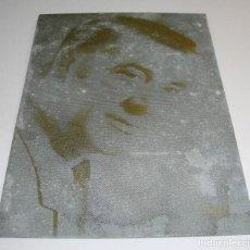 Antigüedades: (TC-107) MUY DIFICIL PLANCHA CLICHE IMPRENTA DE MARAVILLAS JUAN. Lote 97779827