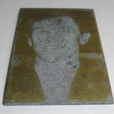 Antigüedades: (TC-107) MUY DIFICIL PLANCHA CLICHE IMPRENTA DE DIEGO CLAVEL. Lote 97780003