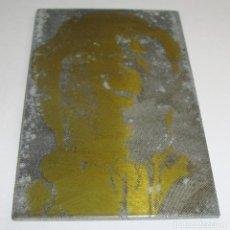 Antigüedades: (TC-107) MUY DIFICIL PLANCHA CLICHE IMPRENTA DE DIEGO CLAVEL. Lote 97780263