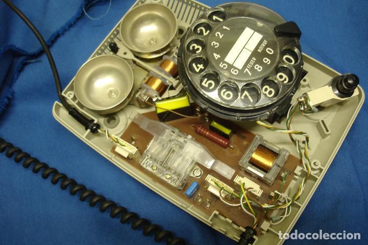 Teléfonos: -ANTIGUO TELÉFONO SIEMENS - MUY BIEN CONSERVADO - Foto 2 - 97880919