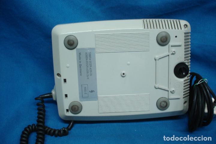 Teléfonos: -ANTIGUO TELÉFONO SIEMENS - MUY BIEN CONSERVADO - Foto 3 - 97880919