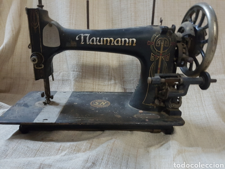 naumann 705 antigua cabeza de maquina de coser - Comprar