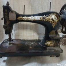 Antigüedades: ANTIGUA CABEZA DE MAQUINA DE COSER MARCA SINGER. Lote 119003880
