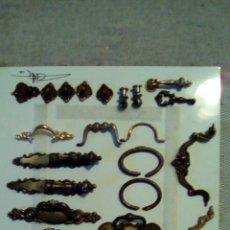 Antigüedades: LOTE DE TIRADORES, ASAS. Lote 97900059
