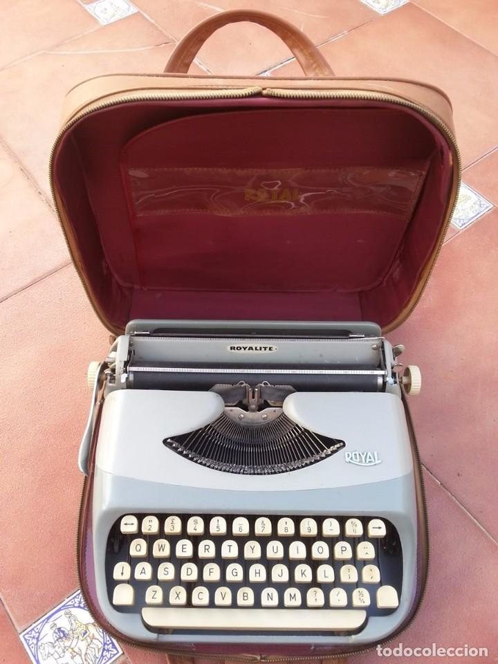 MAQUINA DE ESCRIBIR ROYALITE (Antigüedades - Técnicas - Máquinas de Escribir Antiguas - Royal)