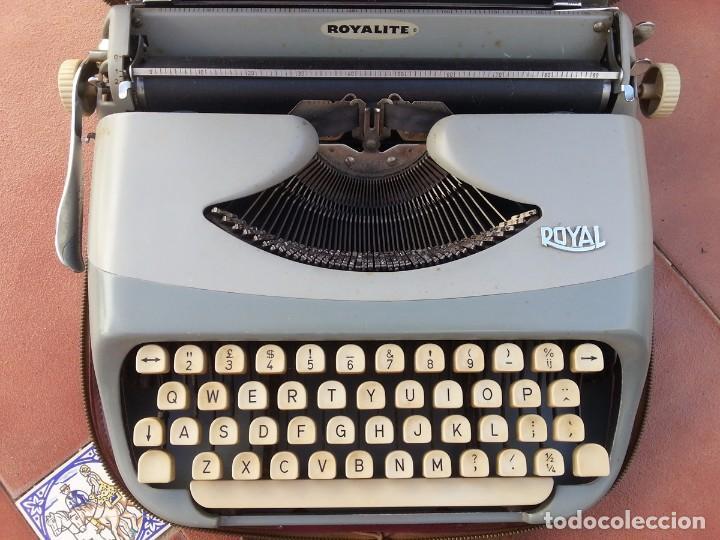 Antigüedades: Maquina de escribir Royalite - Foto 2 - 97912531