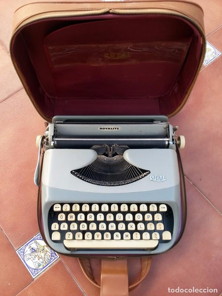 Antigüedades: Maquina de escribir Royalite - Foto 7 - 97912531