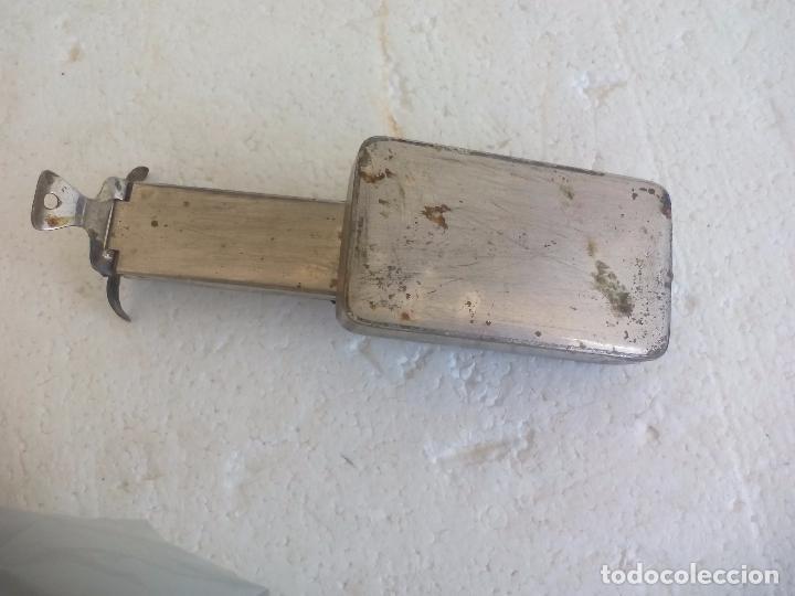 Antigüedades: Esterilizador quemador médico, de farmacia o laboratoria jeringuillas agujas cuchillas - Foto 4 - 97914483