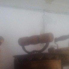 Antigüedades: PLANCHA DE BRONCE. Lote 98000711