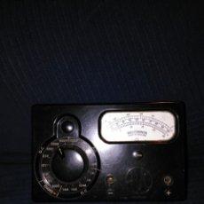 Antigüedades: VINTAGE 1950S MK. 1, AVO MULTIMINOR METER MULTÍMETRO MEDIDOR ELÉCTRICO. Lote 98020158