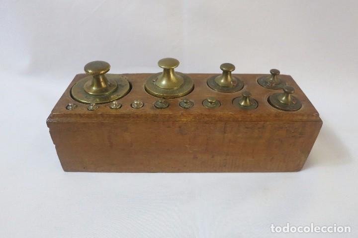 Antigüedades: taco de pesas de 2 kilos - Foto 2 - 98034783