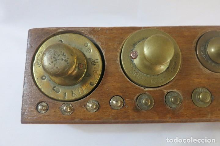 Antigüedades: taco de pesas de 2 kilos - Foto 4 - 98034783