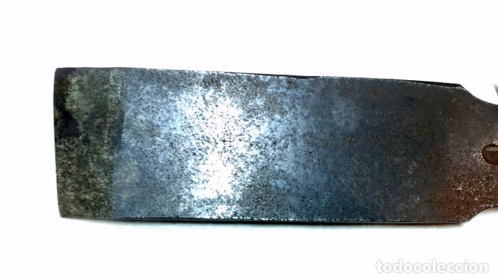 Antigüedades: GRAN GUBIA CARPINTERO PARA TORNO, MARCA CAST STEEL. NORFOLKWORKS. 46cm - Foto 5 - 98120959