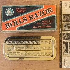 Antigüedades: MAQUINILLA DE AFEITAR Y AFILADOR - ROLLS RAZOR 1927 COMPLETA Y EN EXCELENTE ESTADO. Lote 98125135