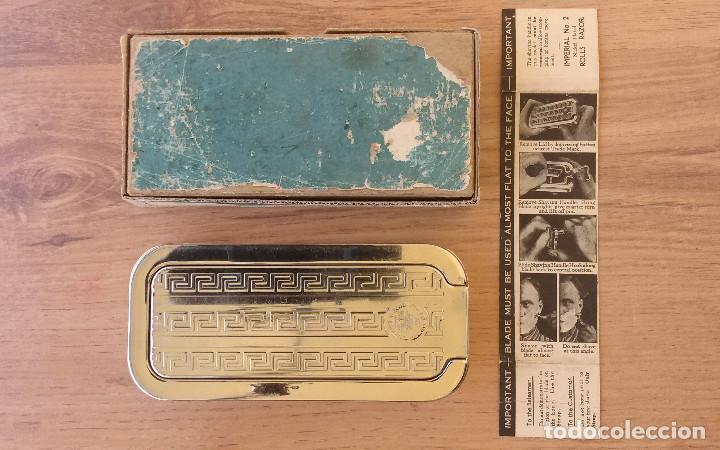 Antigüedades: Maquinilla de afeitar y afilador - ROLLS RAZOR 1927 Completa y en excelente estado - Foto 2 - 98125135