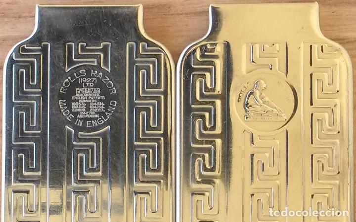 Antigüedades: Maquinilla de afeitar y afilador - ROLLS RAZOR 1927 Completa y en excelente estado - Foto 4 - 98125135