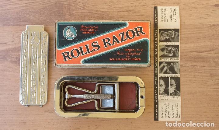 Antigüedades: Maquinilla de afeitar y afilador - ROLLS RAZOR 1927 Completa y en excelente estado - Foto 6 - 98125135