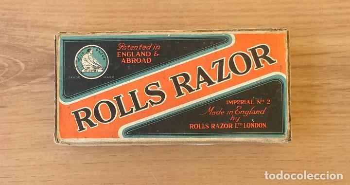 Antigüedades: Maquinilla de afeitar y afilador - ROLLS RAZOR 1927 Completa y en excelente estado - Foto 8 - 98125135