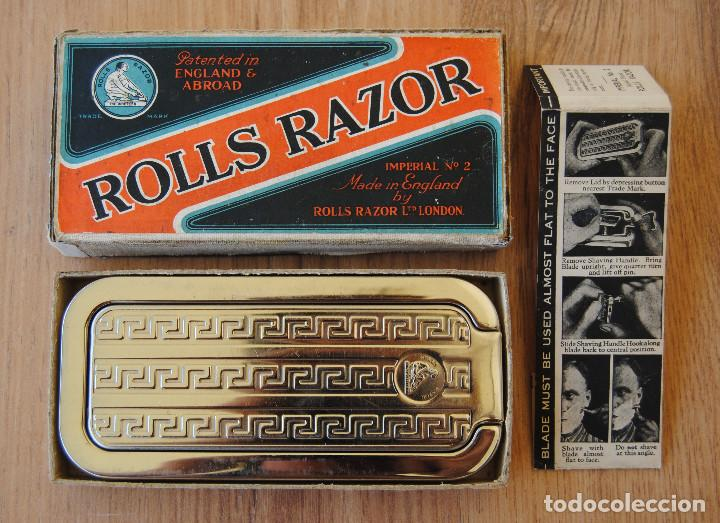 Antigüedades: Maquinilla de afeitar y afilador - ROLLS RAZOR 1927 Completa y en excelente estado - Foto 9 - 98125135