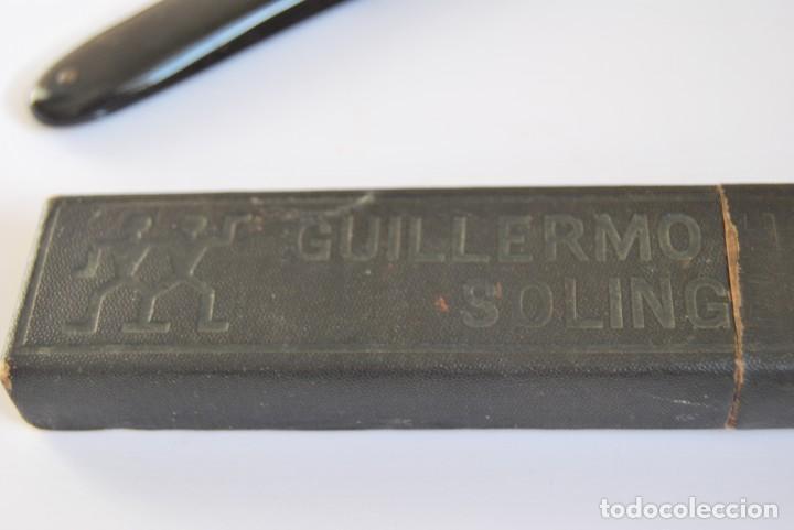 Antigüedades: NAVAJA DE AFEITAR GUILLERMO HOPPE - SOLINGEN - Nº 8 - BARBERO - BARBERÍA - CIRCA 1900 - Foto 9 - 98204487
