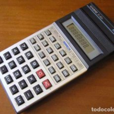 Antigüedades: CALCULADORA CASIO FX-82D FRACTION FX82D - CALCULATOR -. Lote 98355099
