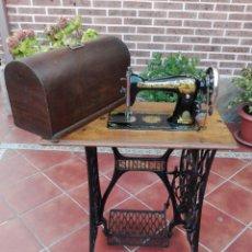 Antigüedades: MÁQUINA DE COSER SINGER. Lote 98414676