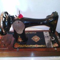 Antigüedades: MAQUINA DE COSER SINGER. Lote 98444399