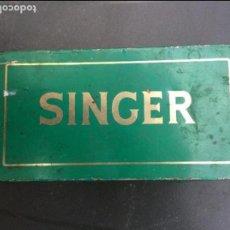 Antigüedades: CAJA SINGER PARA HILOS. Lote 98508651