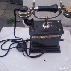 Teléfonos: IMPRESIONANTE Y RARA PIEZA DE MUSEO PERFECTO ESTADO TELEFONO SUECO AÑOS 1900 FUNCIONANDO 530 EU. Lote 98512811