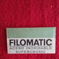 Antigüedades: HOJA DE AFEITAR FILOMATIC. Lote 98515891