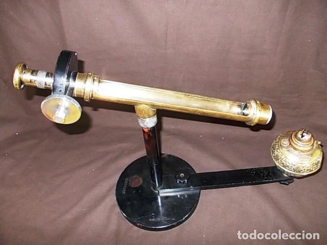 Antigüedades: ANTIGUO ESPECTÓMETRO GLUCOMETRO DE LA MARCA AMERICANA JENA XIX - Foto 2 - 98545187