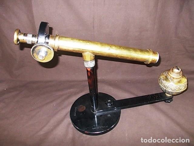 Antigüedades: ANTIGUO ESPECTÓMETRO GLUCOMETRO DE LA MARCA AMERICANA JENA XIX - Foto 4 - 98545187