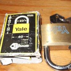 Antigüedades: YALE CANDADO. Lote 98554059