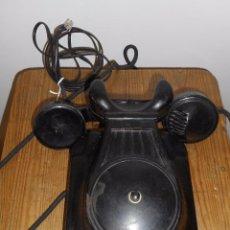 Teléfonos: ANTIGUO TELÉFONO DE PARED DE BAQUELITA. Lote 98569663