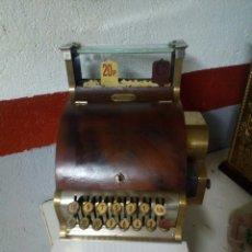 Antigüedades: REGIDTRADORA NATINAL 1910. Lote 98579678