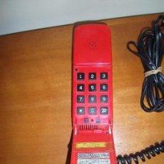 Teléfonos: TELEFONO MODELO BENJAMIN DE SOBREMESA EN COLOR ROJO. Lote 93213310