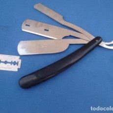 Antigüedades: NAVAJA DE AFEITAR PORTA-HOJAS MARCA PIPER - INOXIDABLE. Lote 98636343