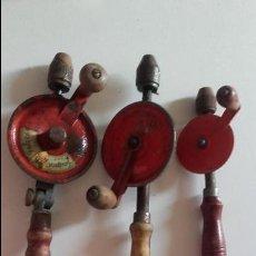 Antigüedades: 3 BERBIQUÍES DE DIFERENTE TAMAÑO. Lote 98716799