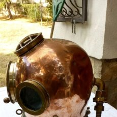 Antigüedades: ESCAFANDRA DE BUZO ANTIGUA. Lote 98730775