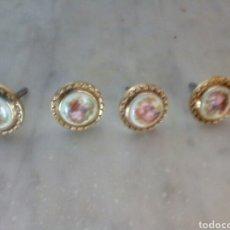 Antigüedades: 4 POMOS ANTIGUOS. Lote 98759810