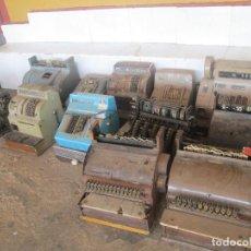 Antigüedades: LOTE DE 12 CAJAS REGISTRADORA. Lote 98764827
