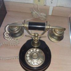 Teléfonos: TELEFONO ANTIGUO DE DISCO (FUNCIONANDO). Lote 98767975