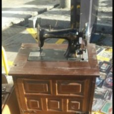 Antigüedades: MAQUINA DE COSER SINGER. Lote 98810844
