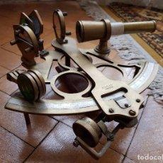 Antigüedades: SEXTANTE ANTIGUO MARCA STANLEY. Lote 98811267