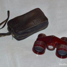 Antigüedades: ANTIGUOS BINOCULARES PORTÁTILES - CARTON JE10 - DE 3 AUMENTOS - 3X - GRAN CALIDAD - MIRA LAS FOTOS. Lote 98850815