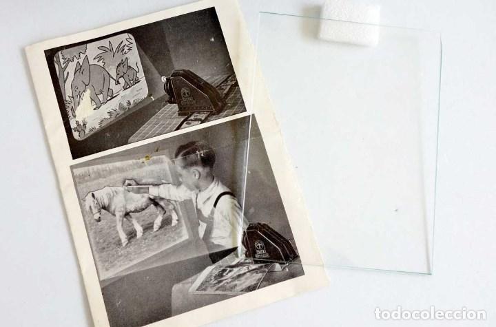 Antigüedades: PROYECTOR OPACOS DUX EPISCOP 49. AÑOS 60. CAJA Y MANUAL. FUNCIONA - Foto 8 - 98921935