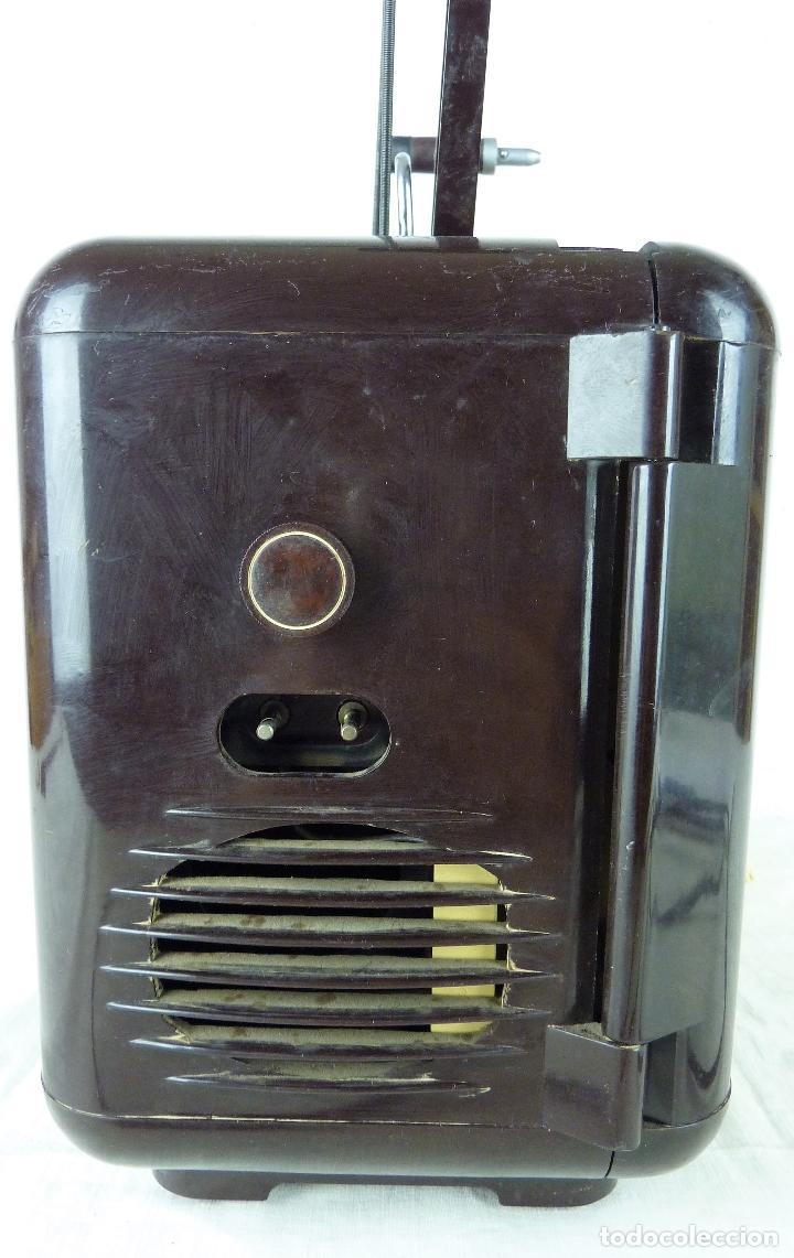 Antigüedades: Proyector 8mm Ericsson Cineric E9 con caja original, años 40  baquelita (Funcionando