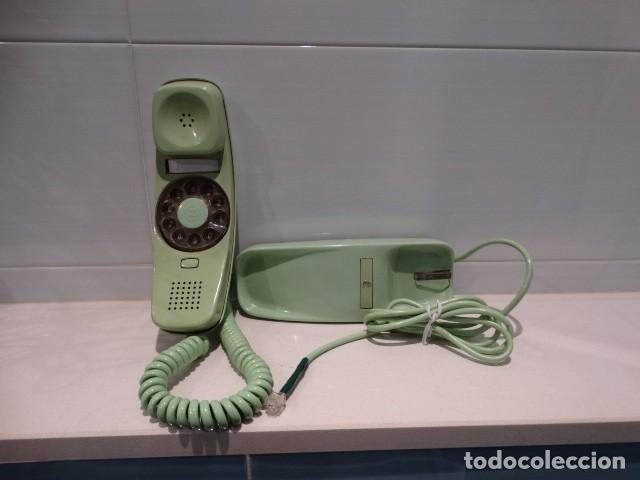 Teléfonos: Teléfono góndola verde de rueda - Foto 2 - 99229383